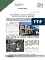 23/06/2014 CAMPAÑA DENGUE SALINA CRUz