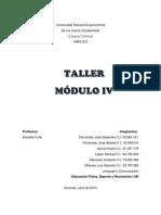 Taller Modulo 4 Lenguaje