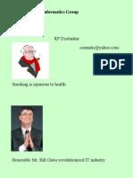 DIG for Disease Informatics Group