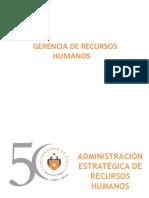 2. Administración Estratégica de Recursos Humanos