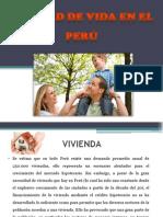 Calidad de Vida en El Perú