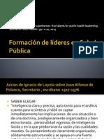 Formación de Líderes en Salud Pública