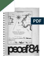 Informe materiales humanos Bahia Valentin 1984