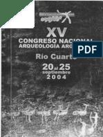 Fugassa et al 2004 Paleoparasitologia Patagonia Austral Congreso Arqueologia