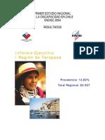 Informe I Region