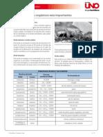 Acidos en el uso industrial