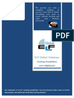 ELF GLOBAL Solutions Profile