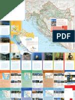 克羅地亞交通地圖 和旅遊信息