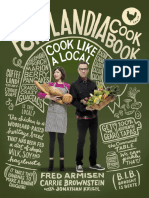 Recipes from THE PORTLANDIA COOKBOOK by Fred Armisen, Carrie Brownstein, and Jonathan Krisel