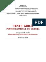 Teste Grila Licenta CIG 2014 (Deju Et Al)
