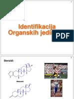 Identifikacija Org.jedinjenja