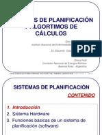 Planificadores y Algoritmos de Calculo de Dosis