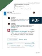 2014-06-22 Roshanna Delgado (Roxanne) NY-CLASS - Twitter Retaliation E-mail Alert (1 of 6)