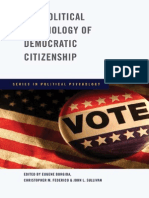 Borgina Et Al 2009 - The Political Psychology of Democratic Citizenship