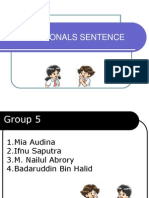 Group 5 Conditional Sentence