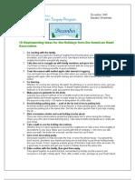 Dec Newsletter 2009