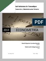 Econometria Enero - Mayo 2013