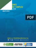 Producción Empleo Exportaciones PTP | abril 2014