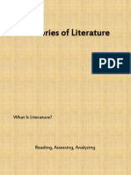 Theories of Literature(1)