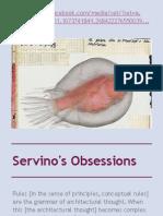 Servino's Obsessions