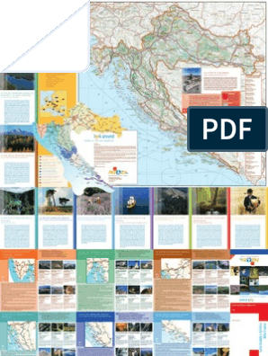Cartina Stradale Baska Croazia.Carta Stradale E Turistica Della Croazia