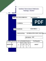 ILUMINACIONES E INSTALACIONES ELECTRICAS.doc