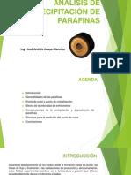 Análisis de Precipitación de Parafinas