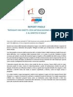 Report Finale Progetto Rifùgiati Nei Diritti