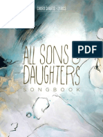 All Sons & Daughters_Songbook
