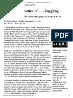 The Mathematics of . . . Juggling _ DiscoverMagazine