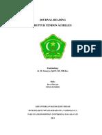 Journal Reading (Ruptur Tendon Achiles)