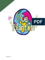 Guíon ¡Qué Plantón!
