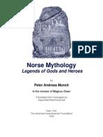 Norse Mythology Legend Of Gods and Heroes