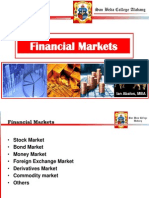FEL109R Lecture 3 - Financial Markets