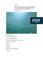 Vetores e Matrizes Na Linguagem Java