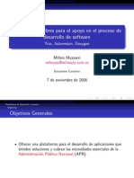 Herramientas Libres Para El Apoyo en El Proceso de Desarrollo de Software -Trac- Subversion- Doxygen