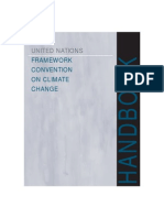 Handbook climate change