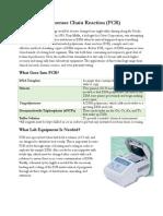 Cam PCR Definition and Description