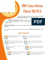 IBM Lotus Notes Client R8-8.5