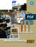 Manual de Productos RECOPE