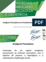Analgesia Preemptiva em Procedimentos Ginecológicos.pptx