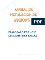 Manual de Instalacion de Windows 8