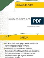 Historia del Derecho de Autor.ppt