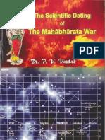 The Scientific Dating of the Mahabharata War - P V Vartak