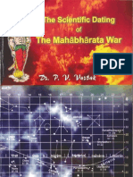 The Scientific Dating of the Mahabharata War - P V Vartak