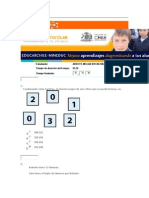 Prueba 1 Matematica on Line