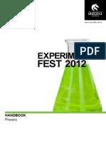2012 Experifest_Physics Booklet