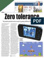 Toronto Sun Times Article about GCW Zero