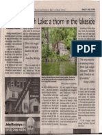 Article on demolition of Meech Lake Shed