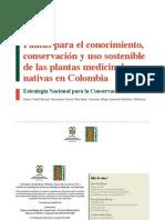 PautasparaelconocimientoconservacionyusosostenibledelasplantasmedicinalesnativasdeColombia